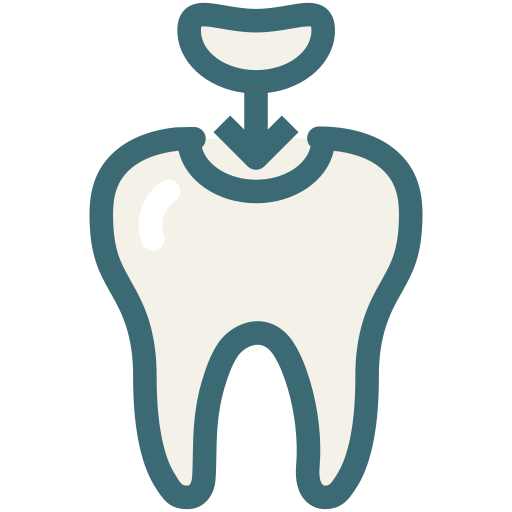decayed tooth, dental, dental treatment, dentist, dentistry, medical, molar cavity icon