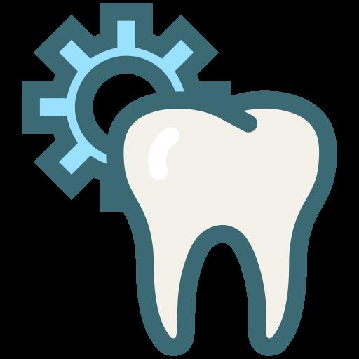 dental, dentist, dentistry, oral hygiene, teeth, tooth, tooth setting icon