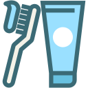 oral hygiene, toothpaste, dental, toothbrush, dentist, dentistry, clean teeth icon