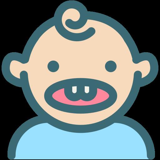 baby teeth, dental, dentist, dentistry, medical, oral hygiene, tooth icon