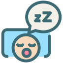 oral hygiene, snore, dental, sleeping, dentist, dentistry, tooth icon