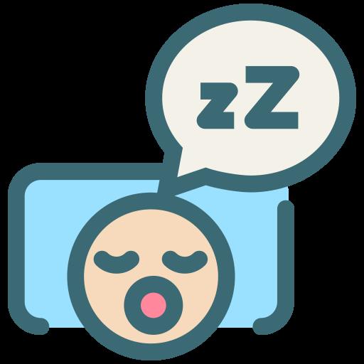 dental, dentist, dentistry, oral hygiene, sleeping, snore, tooth icon