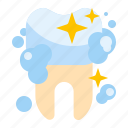dental, hygiene, shiny, tooth icon