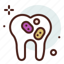 cell, dental, teeth, tooth icon
