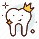 crown, dental, dentist, tooth icon