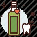 dental, mouthwash, care icon