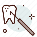 dental, dentist, tools2, tooth icon
