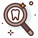 dental, dentist, inspection, teeth, tooth icon