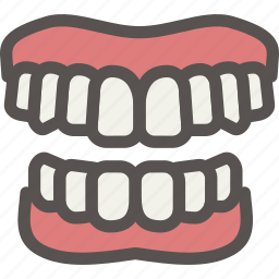 bite, dental, dentist, gums, health, jaw, tooth icon