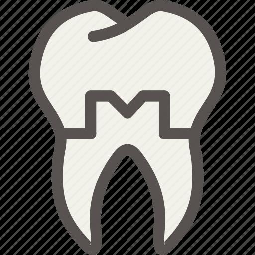 crown, dental, dentist, health, tooth icon