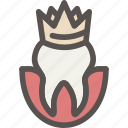 crown, crowns, dental, dentist, health, tooth icon