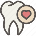 dental, dentist, health, help, love, tooth icon