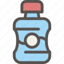 dental, dentist, health, hygiene, mouthwash, tooth icon
