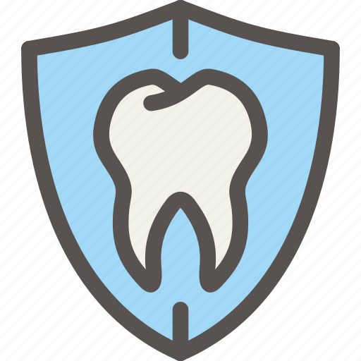 dental, dentist, health, protection, tooth icon