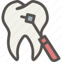 dental, dentist, drill, health, surgery, tooth icon