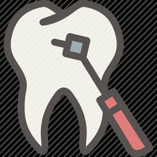 dental, dentist, drill, health, surgery, tooth icon
