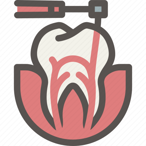 canal, dental, dentist, drill, teeth, tooth icon