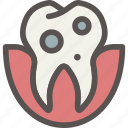 caries, dental, dentist, teeth, tooth icon