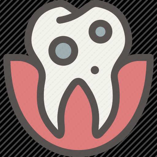 caries, dental, dentist, teeth, tooth icon