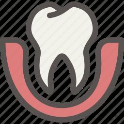 dental, dentist, loose, teeth, tooth icon
