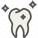 dental, dentist, shine, teeth, tooth icon