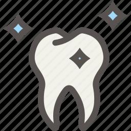 dental, dentist, shine, teeth, tooth icon