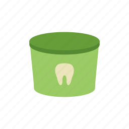 care, dental, dentist, medicine, mouth, paste, tooth icon