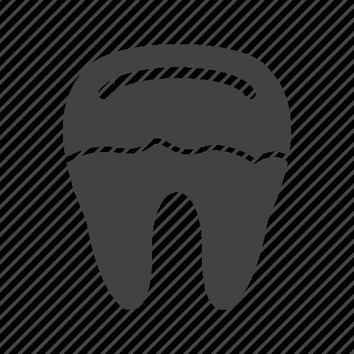 cavity, decay, dental, dentist, medical, teeth, tooth icon