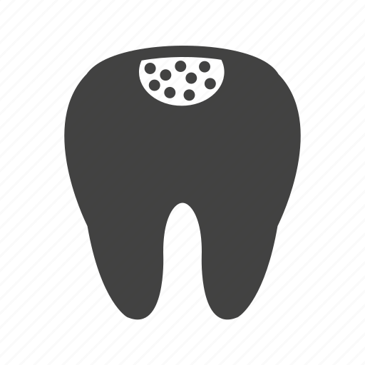 care, cavity, decay, hole, medical, teeth, tooth icon