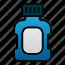 bottle, dental, dentist, health, medicine, mouthwash icon