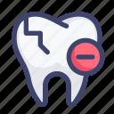 broken, cavity, crack, dental, dentist, tooth