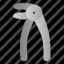 dental, dentist, equipment, pliers, tools, tooth icon