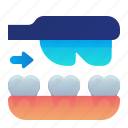 cleaning, dental, dentist, teeth, toothbrush icon