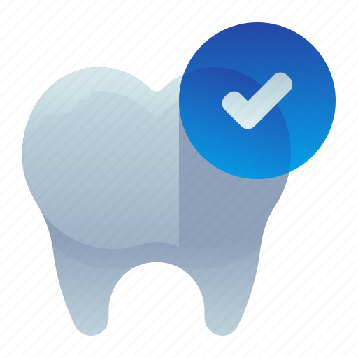 Approve, check, checked, dental, dentist icon - Download on Iconfinder
