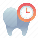 appointment, dental, dentist, schedule, time icon