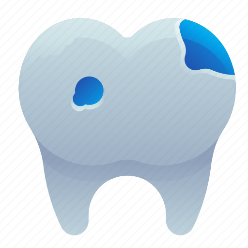 dental, dentist, hole, teeth, tooth icon