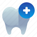 dental, dentist, old, replace, teeth icon
