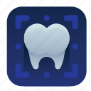 dental, dentist, ray, teeth, tooth, x icon