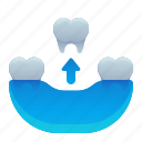 dental, dentist, removal, tooth icon