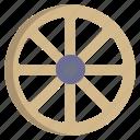 wagon, wheel