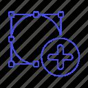 add, design, ellipse, shape, tool, vector