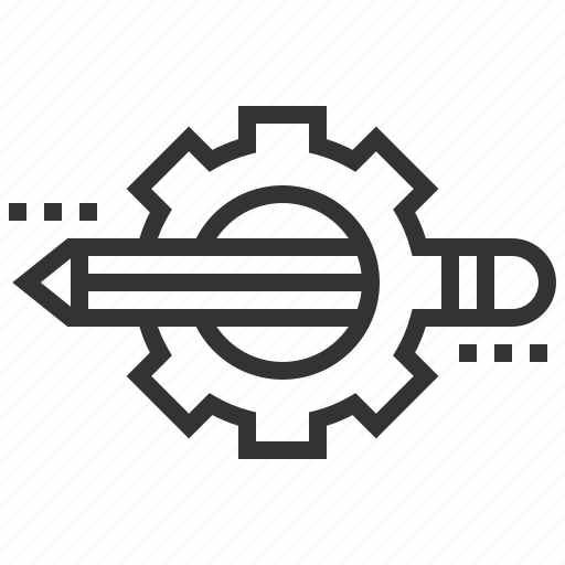 creative, design, edit, graphic, pencil icon
