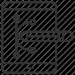 creative, design, equipment, grid, tool icon