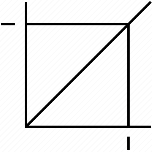 crop, design, edit, graphic icon