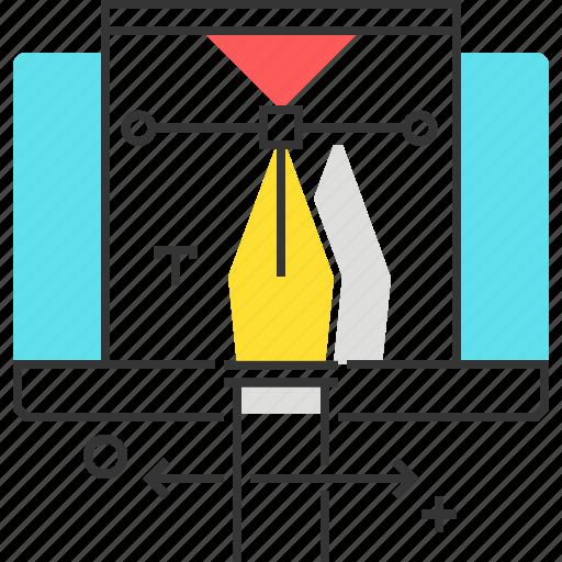 computer, cursor, design, illustration, web icon