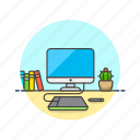 creative, design, graphic, imac, office, pen, tablet, work icon