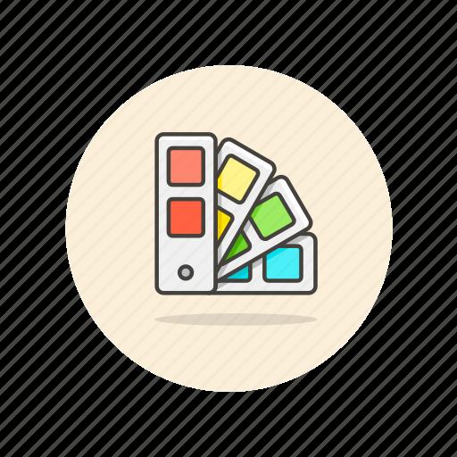 cmyk, color, design, pantone, rainbow, rgb icon