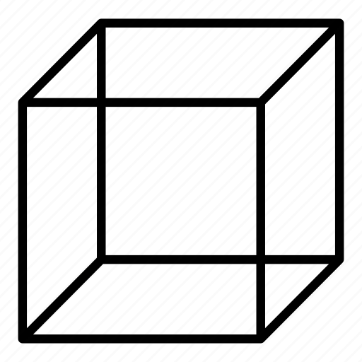 box, cube, form, geometry icon