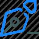 edit, minus, nib, pen, write icon