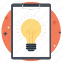 bright idea, idea, innovation, productivity, work idea icon